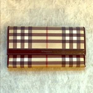 Authentic Burberry Classic wallet